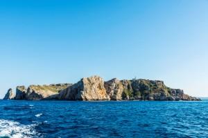 De Medes eilanden voor de kust van L'estartit
